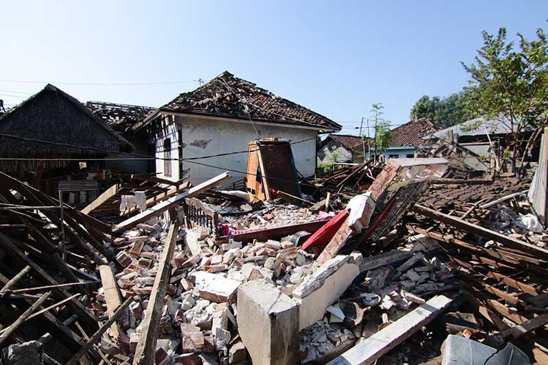 היסטוריה של רעידות אדמה